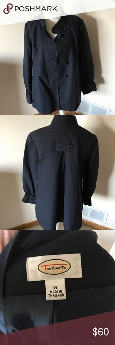 Navy Blue Peacoat Barely used Peacoat, just love this jacket but it doesn't Fit anymore. This jacket makes the outfit. Jacket from Tabolts. Jackets & Coats Pea Coats