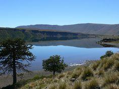 A orillas del Lago Caviahue