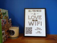 affiche code wifi diy tutoriel gratuit shop it yourself Diy Shops, All You Need Is Love, Wifi, Coding, Organization, Mugs, Tableware, Deco, Diy Tutorial