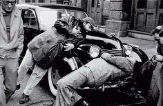 "Bastidores ""The Godfather"" - Francis Coppola e Marlon Brando (Don Vito) - cena tentativa de assassinato do Don Vito"