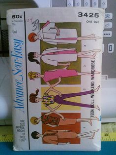 Barbie Sewing Pattern Advance 3425 | Flickr - Photo Sharing!