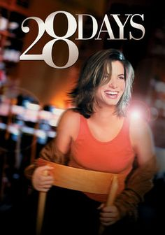 28 Days is about a woman, played by Sandra Bullock who plays an addict who screws up her sister's wedding and faced with 28 days of rehab or jail time. She chooses the rehab where she finally finds herself. I really love Sandra Bullock, and she is herself in this movie like many other movies, however, even with her and casts like Viggo Mortensen and Steve Buscemi, can't save this movie from being average.