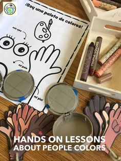 Blog post about how I talk about skin colors & race with my elementary students. These activities can be done in any classroom, general ed or world languages such as my Spanish classes. Mundo de Pepita, Resources for Teaching Languages to Kids #peoplecolors #multicultural #skincolors #people colors High School Spanish, Elementary Spanish, Elementary Schools, French Lessons, Spanish Lessons, Teaching French, Teaching Spanish, Teaching Materials, Teaching Resources