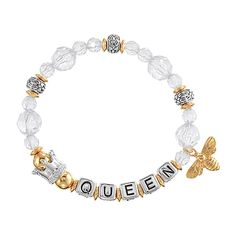 Be her style icon with AVON's Queen Bee Stretch Bracelet. Get this stylish stretch bracelet to match with your daughter mini version. Stretch Bracelets, Beaded Bracelets, Bee Makeup, Bee Jewelry, Jewlery, Fashion Jewelry, Women Jewelry, Asos, Queen Bees