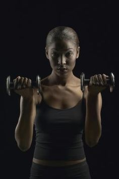 Triceps toning exercises