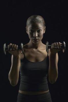 Triceps toning exercises