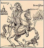 During the English Civil War, the Royalist general Prince Rupert was in the habit of taking his large poodle dog named Boye into battle with him. Throughout the war the dog was greatly feared among the Parliamentarian forces and credited with supernatural powers. As noted by Morgan, the dog was apparently considered a kind of familiar. At the end of the war the dog was shot, allegedly with a silver bullet.