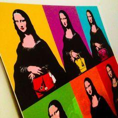 En la oficina también tenemos a la Mona Lisa #LoftNM #Nuriamarchcomunicacion #ilovemyjob #office #art