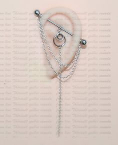Covet Jewelry Flying Sparrow Industrial Barbell