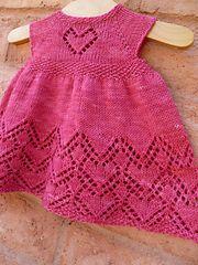 Ravelry: Helen Joyce Dress pattern by Taiga Hilliard Designs baby dress