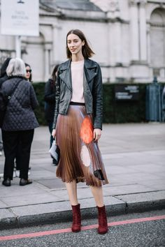 The Best Street Style Looks From London Fashion Week Fall 2017 - Fashionista