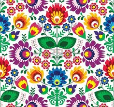 19981101-seamless-floral-traditionnel-polonais--ethnique