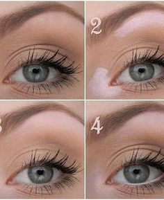 Step by step natural makeup