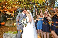 100 Ideas for Fall Weddings ...I haven't looked at this yet but maybe there are some good ideas here?