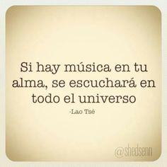 Si hay música....