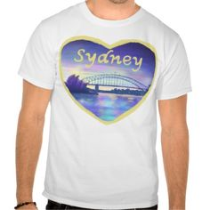 As #ValentinesDay approaches here's an unusual #ValentinesDayGiftIdea make hints about a #dream #holiday #Dreams of #Sydney #Harbour at #Sunset #T-Shirt The #beautiful #architecture of Sydney harbour #Australia is explored in this dream like painting of the harbour, #bridge and the iconic #SydneyOperaHouse at sunset. #Love #Sydney designed and #illustrated by #artist #CatherineSweetman http://www.zazzle.co.uk/pennydrop