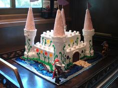The Holistic Chef: Princess Castle Cake ... anything for the birthday girl