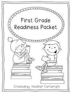 Want to make sure those kindergarteners are ready for first grade?? That's exactly what this packet does! This packet can be sent home over the summer with kindergarten students to make sure they practice the skills they learned.  At the top of each practice page is the Common Core Standard from kindergarten.