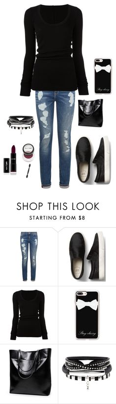 """Untitled #3285"" by kotnourka ❤ liked on Polyvore featuring Tommy Hilfiger, DRKSHDW and Casetify"