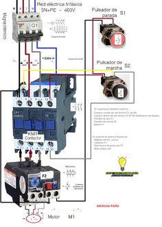 How to wire contactor and overload relay contactor wiring diagram find this pin and more on kate by emil portuguez cheapraybanclubmaster Image collections