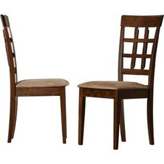 Ashley Furniture Charrell Leather High Back Dining Room Side Chairs