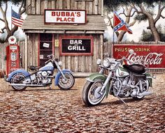 Bubba's Place by John Zed King