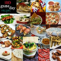 20 Recipes for Your Game Day Get Together