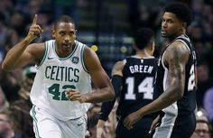 NBA: Celtics vencen a Spurs e hilan 5to triunfo