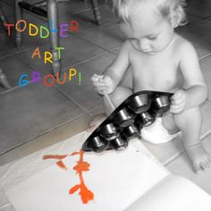 1st Toddler Art Playgroup