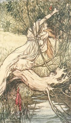 "Arthur Rackham - ""Ophelia"" by sofi01, via Flickr"