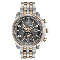 Citizen Eco-Drive Men's World Time A-T Watch. This Eco-Drive watch is powered by light, and features atomic timekeeping with radio control. Features a silver-tone stainless steel case and bracele Denver, Citizen Eco, Watch Companies, Riyadh, Sunderland, Paris, Silver Man, Casio Watch, Seiko