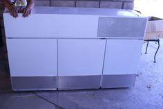 GE Hanging Wall Refrigerator and Freezer