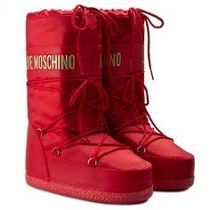 Śniegowce LOVE MOSCHINO - JA24062G12IJ0500 Rosso