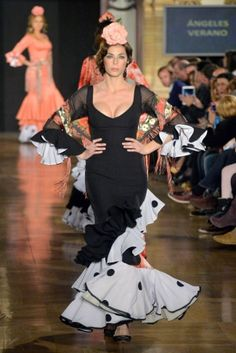 Traje de Flamenca - Angeles-Verano - We-love-flamenco-2014-