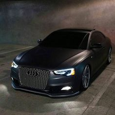 Repost via Instagram: During the year @audis5fx 's #AudiS5 was possibly the most reposted S5 on IG. Orginally Matte Grey now recently wrapped in Satin Black. Check out @audis5fx for more! by audiloverr
