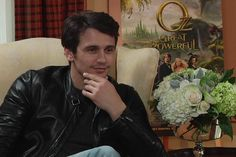 James Franco sits down with Patrick Stinson to talk about #Oz the Great and Powerful