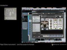 Paper Stone Instruments - Junk Percussion for Kontakt Video Walkthrough - YouTube