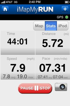gps distance app for iphone
