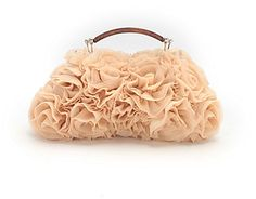 OPAQUE フリルフラワー2WAYパーティーバッグ / Perfect for Special Occasions - Frilled Flower 2-way Party Bag on ShopStyle