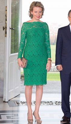 Green lace --wonderful.