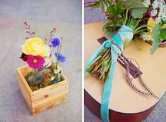 boho wedding flowers | More details from bohemian wedding, photos by San Francisco wedding ...