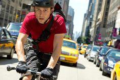 Joseph Gordon-Levitt as a bike courier - Premium Rush movie.