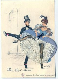 Janicotte Paris French Cancan Dancer French Cancan Pinterest French Paris And Dancers