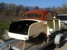 Mercedes W120 180D Ponton (1956) Restoration
