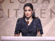 Clinton Global Citizen Awards 2010: Salma Hayek Pinault - http://hagsharlotsheroines.com/?p=75616