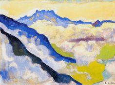 dents-du-midi-in-clouds-1917.jpg (2800×2097)ferdinand hodler