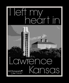 I left my heart in Lawrence Kansas 8x10 Photo by a2zphotography, $20.00 see more at www.facebook.com #rockchalk #kubball #lawrence