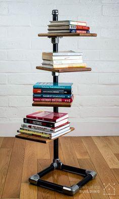 Creative DIY Bookshelf & 25 Great Ideas You Can Take It