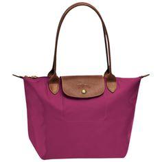 Shopping bag S - Le Pliage - Bags - Longchamp - Fuchsia - Longchamp United-States