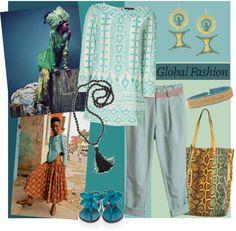 """Global Fashion"" by meritza on Polyvore"